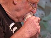 Richard Nunns playing a sperm whale tooth nguru