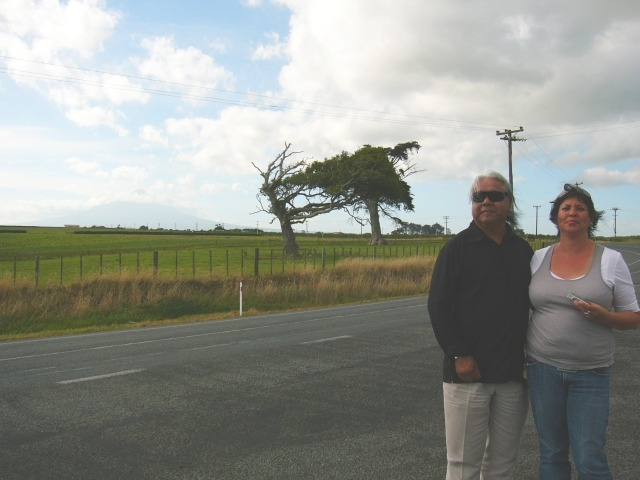 Taranaki, James and Megan