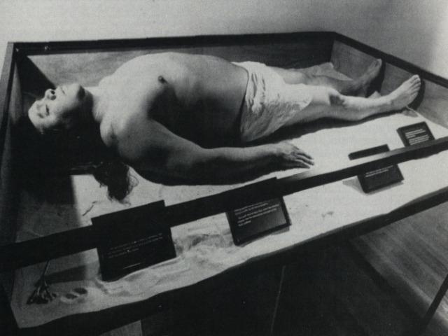 James Luna, Artifact piece, 1987