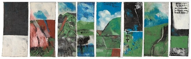 Colin McCahon, Northland panels, 1958