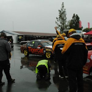 The Marshals organising the V8s