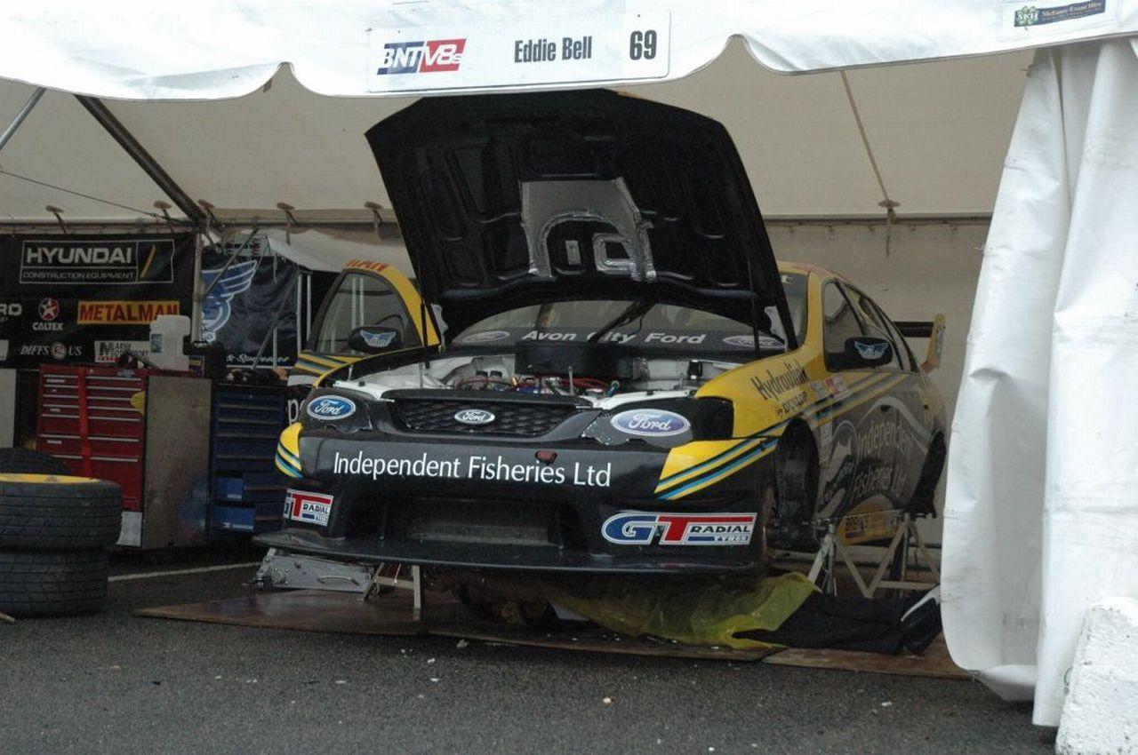 Body under car