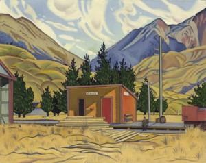 Rita Angus, Cass, 1936 Christchurch Art Gallery Te Puna o Waiwhetu
