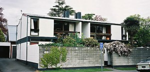 Warren & Mahoney's Dorset Street flats. Image from Christchurch Modern