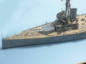 Waterline model of HMS New Zealand