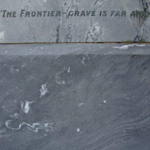 Memorial detail, February 2009