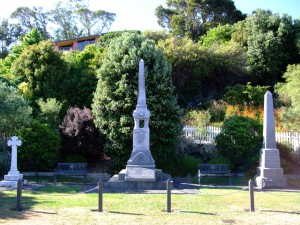 Collingwood war memorials, February 2009