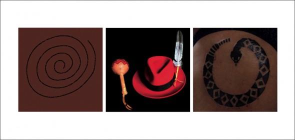 SPIRAL, 2009, IMAGE COURTESY TE PAPA; HAT, 2005, MARK VELASQUEZ; ASS, 2008, DAVID MERRITT.