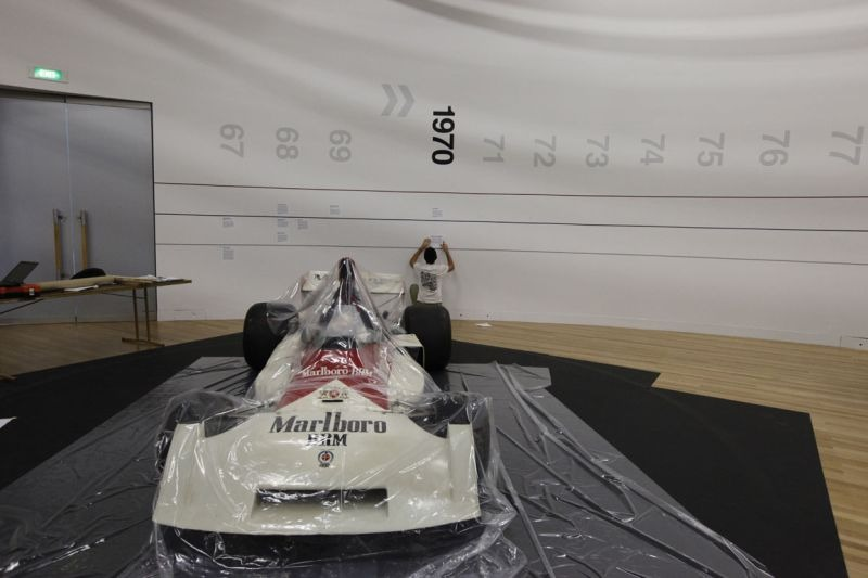 The BRM P160. © Te Papa, 2009.