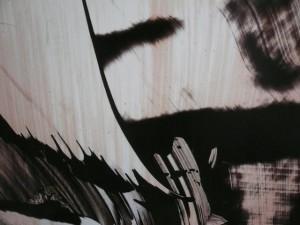 Canvas close up
