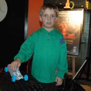 Constructor Jonathan insisted his car be number 1. © Te Papa, 2009.