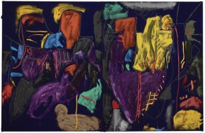 Julian Dashper, Purple Rain at Glorit, 1986