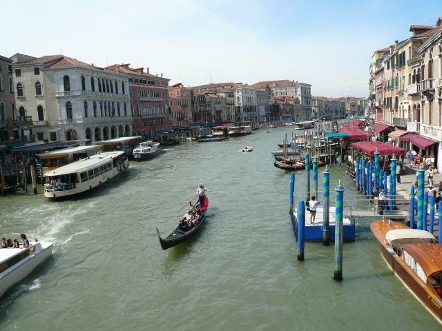 The Grand Canal from Rialto Bridge