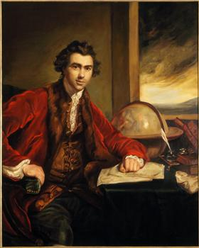 Portrait of Sir Joseph Banks, Joyce Aris, 1970