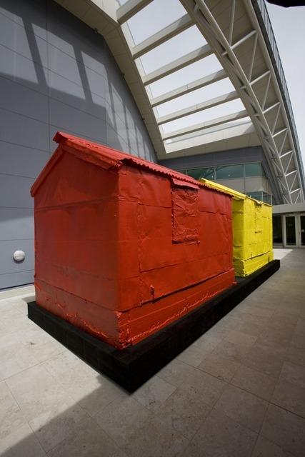 A Loss, Again, Ronnie van Hout, Te Papa Sculpture terrace, Level 6