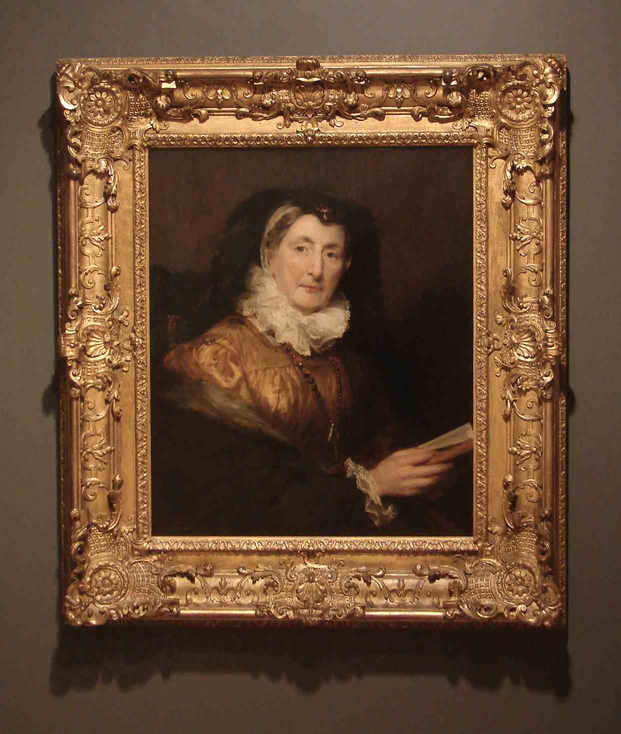 Margaret Carpenter Portrait of Mrs W Collins