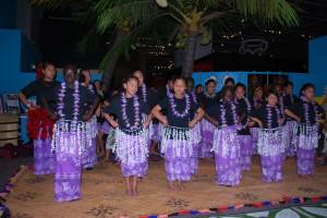 St Bernadette's School Culture group performing an item