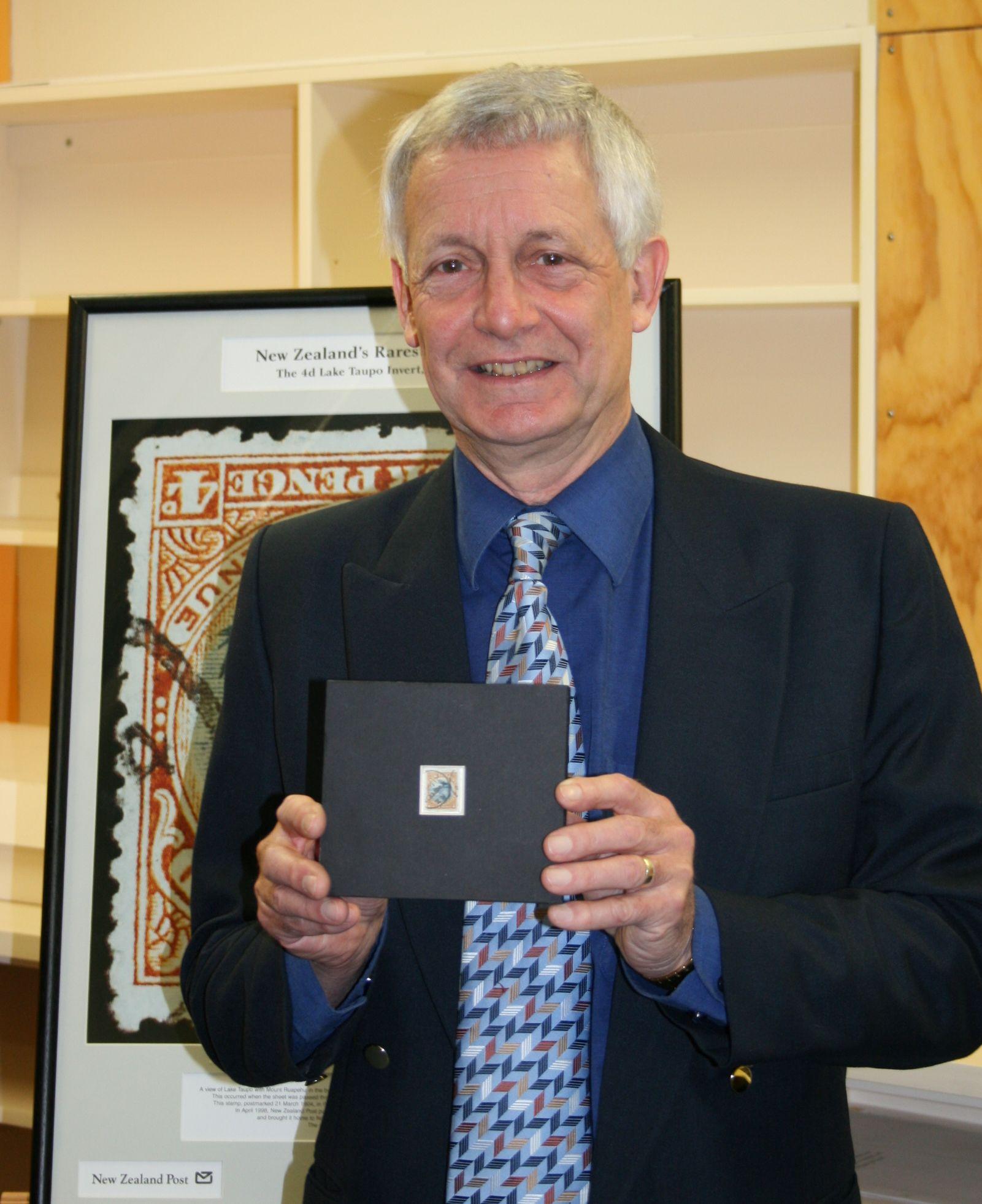 Te Papa S Blog New Zealand S Rarest Stamp Now At Te Papa