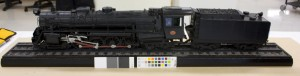 New Zealand Railways K900 class steam locomotive and tender model DT