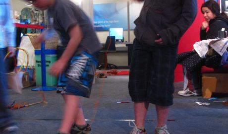 Luke and Anton fish up the North Island in our Te Huka ā Tai Whānau Day | (c) Te Papa