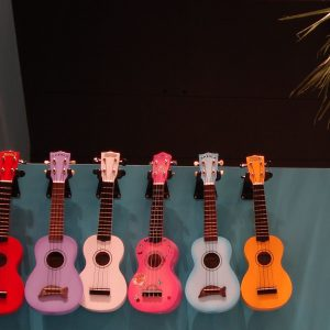 Ukuleles in PlaNet Pasifika Photo by Anna Sheffield © Te Papa 2010