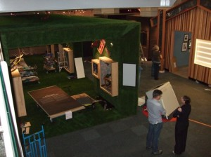 More intriguing glimpses of the exhibition.