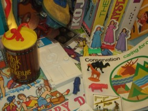 Everyday toys - from what year?. Copyright Te Papa, 2010.