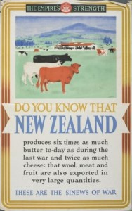 Poster 'The Empire's Strength' 1940s GH15353 Te Papa