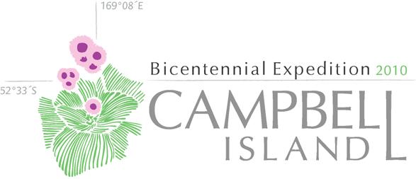 Campbell Island Bicentennial Expedition Logo