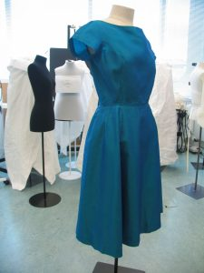 Dress by Polly Peck, 1957. Gift of Valerie Carson. Collection of Te Papa.