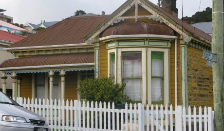 Former home of Roy Houchen and his mother, 94 Constable Street, as it looks today. Photo: Kiera Gould, 2011.