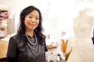 Jane Yeh in her Parnell workroom, Auckland.