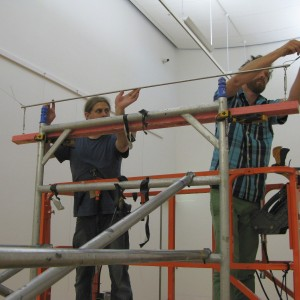 Installing Suspension Rig for Jim Allen's Works
