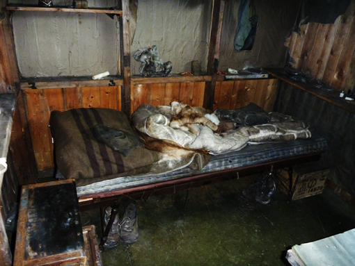 Scott's bunk. Photo Anton van Helden, copyright Te Papa.