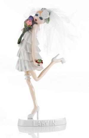 Lanvin ceramic figure.
