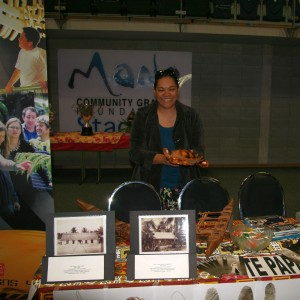 Te Papa stall at Expo
