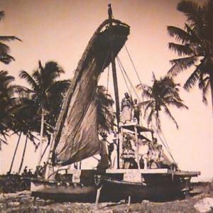O.001120; Samoan War Canoe; 1890 - 1910; Andrew, Thomas