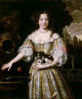 Portrait of Louise de Kerouaille by Henri Gascar ca. 1670 (Auckland Gallery of Art, Auckland New Zealand)