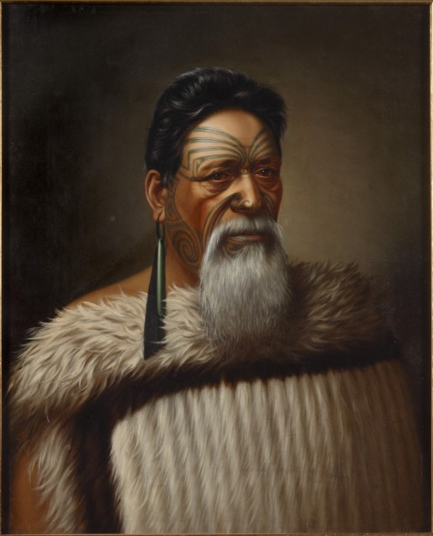 Wi Tako Ngātata painted by Gottfried Lindauer (1880)
