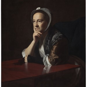 Mrs Humphrey Devereux; 1771; Copley, John Singleton.  After treatment, 2012, photograph by Kate Whitley