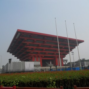 The China Art Museum in Shanghai. Photo: Hutch Wilco, Te Papa