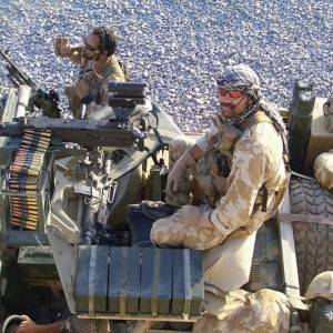 Lance Corporal Willie Apiata on duty in Afghanistan, 2004.  Photograph courtesy of the New Zealand Army