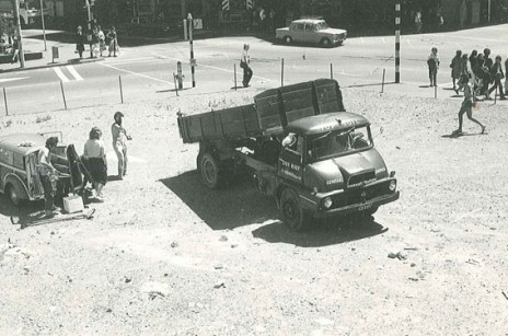 Barry Thomas, 'Vacant lot of cabbages' documentation, 1978. Purchased 2012, Te Papa. Photo: courtesy of Barry Thomas.
