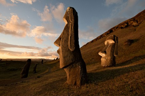 http://worldheritagesites.tumblr.com/post/4064583391/hillside-moai-rapa-nui-national-park-chile