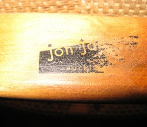 The 'jon jansen' stamp appears on the inside of the back rail