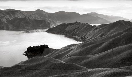 F.007215/04; Te Kawau-a-toru (The pet shag of Kupe) French Pass, Marlborough; 2002