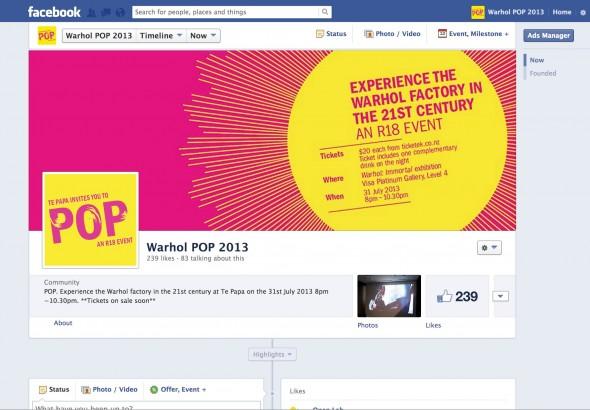 POP on Facebook