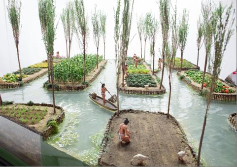 Aztecs Gardens In The Lake Te Papa S Blog