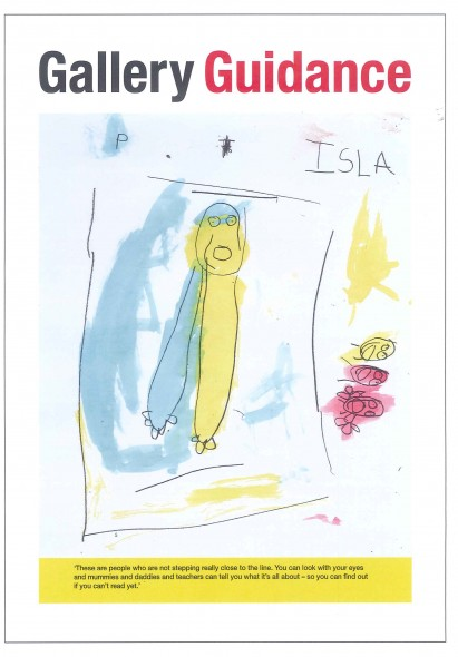Gallery Guidance from Isla, © Te Papa