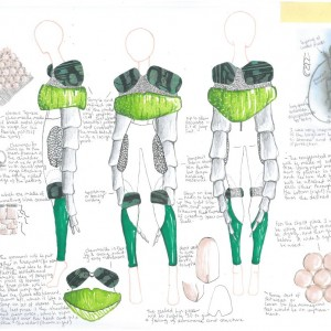 Maia's design sketches. © Maia Holder-Monk